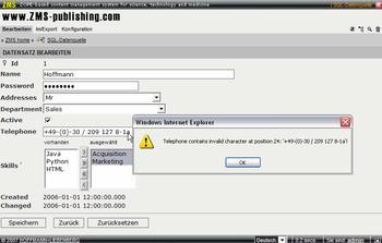 ZMSSQLDB_JSdatavalidation