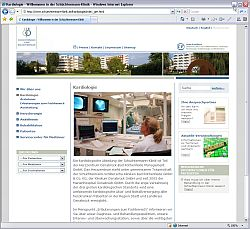 Beste Klinikwebsite 2008: Schüchtermann-Klinik