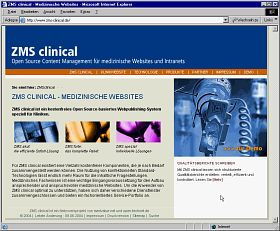 ZMS clinical Homepage