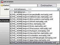 Import LocalFS-Explorer